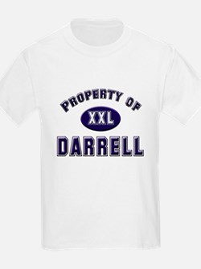 Property of darrell Kids T-Shirt