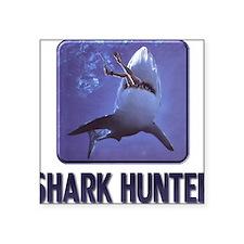 "sharkhunter01 Square Sticker 3"" x 3"""