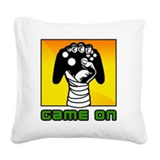 Game-On Square Canvas Pillow