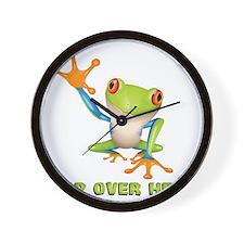 hopover Wall Clock
