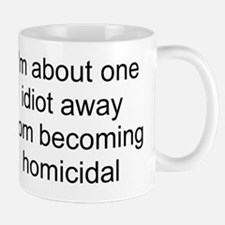 homicidal Small Mugs