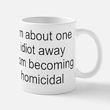 homicidal Small Small Mug