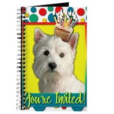 InviteCupcakeWestie Journal