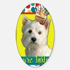 InviteCupcakeWestie Decal