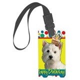 Westie Luggage Tags