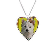 BirthdayCupcakeWestie Necklace