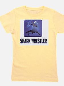 sharkwrestler01 Girl's Tee