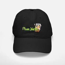 InviteCupcakeInside Baseball Hat