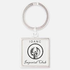 Club Logo.gif Square Keychain