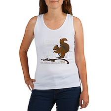 squirrelkicking_DARKtshirt Women's Tank Top