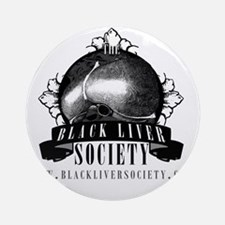 blacklabelsocietytshirt_light Round Ornament