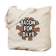 Bacon4Days Tote Bag