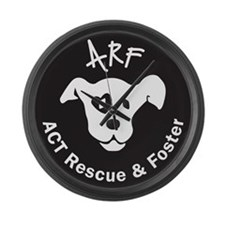ARF round Large Wall Clock