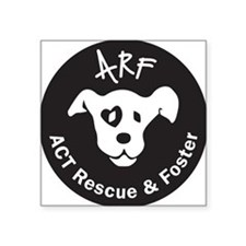 "ARF round Square Sticker 3"" x 3"""