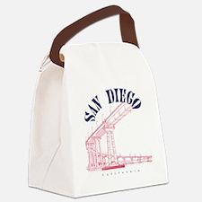 SanDiego_10x10_CoronadoBridge_Blu Canvas Lunch Bag