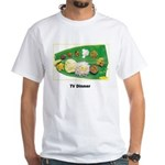 kerala tv dinner White T-Shirt