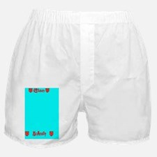 License Plate Holder Boxer Shorts