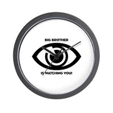 Cute Big brother is watching you Wall Clock