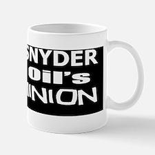 Snyder -Koch Oil Evil Minion bumper sti Mug