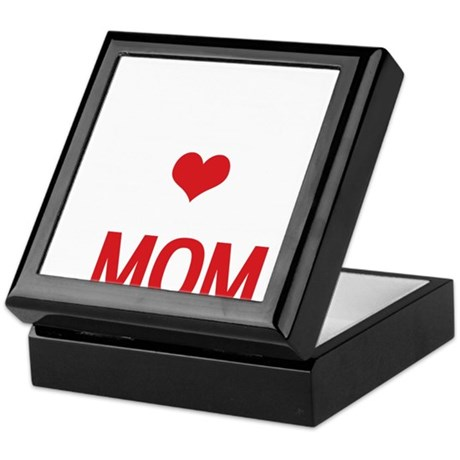 Multitalented Mom Mothers Day Red and Keepsake Box