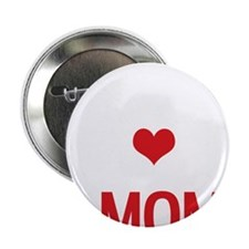 "Multitalented Mom Mothers Day Red and 2.25"" Button"