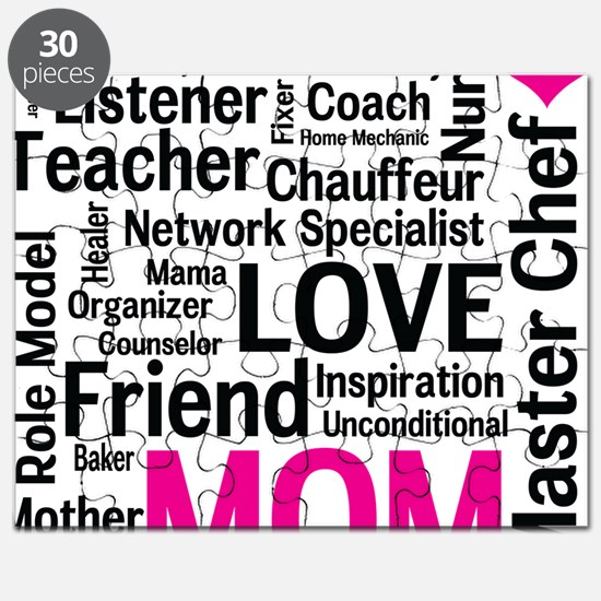 Mothers Day - Everything Mom Does! Puzzle