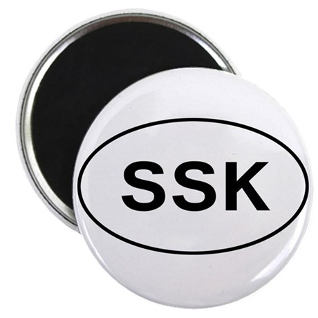 Knitting - SSK Magnet