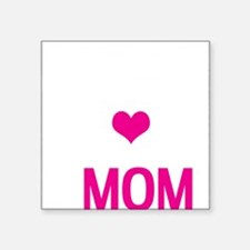 "Do-it-All Mom, Mothers Day, Square Sticker 3"" x 3"""