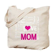 Do-it-All Mom, Mothers Day, Birthday Tote Bag