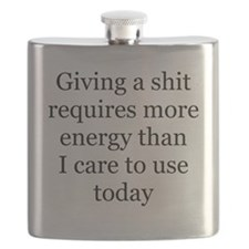 giving a shit Flask