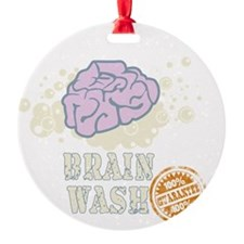 Brain Wash Ornament