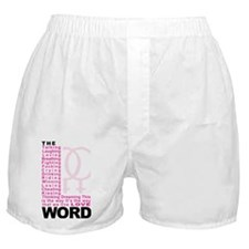 L-Word-Theme Boxer Shorts