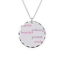 Special Parents black Girl Necklace