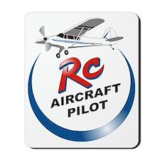 RC aircraft  pilot  Mousepad