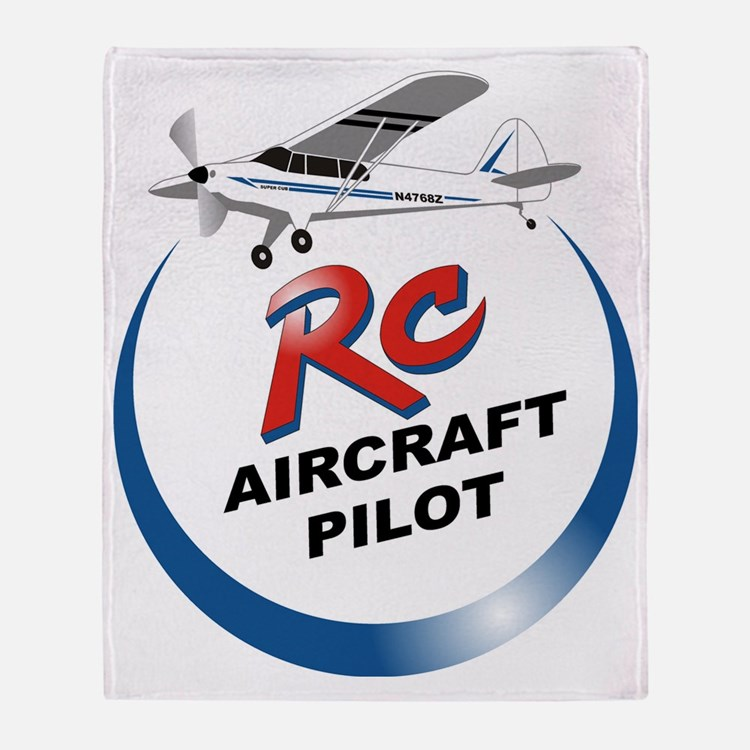 RC aircraft  pilot  Throw Blanket