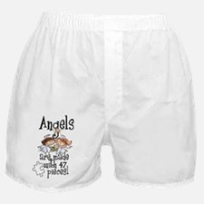 Awareness tee angels are made Boxer Shorts