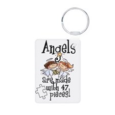 Awareness tee angels are m Keychains
