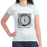 time for some chai clock Jr. Ringer T-Shirt
