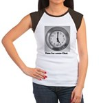 time for some chai clock Women's Cap Sleeve T-Shir