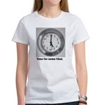 time for some chai clock Women's T-Shirt