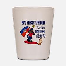 haitian Shot Glass