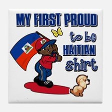 haitian Tile Coaster