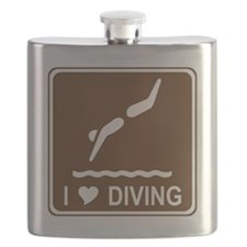 brown_diving_oddsign1 Flask