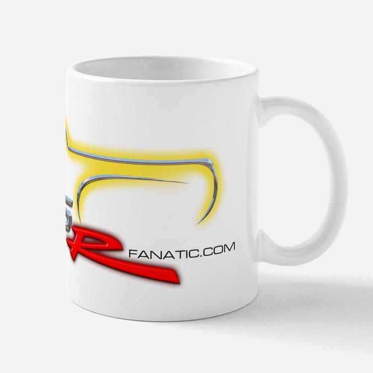 Slingshot Yellow on light background Mug
