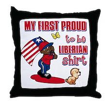 liberian Throw Pillow