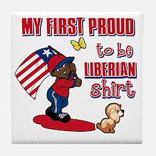 liberian Tile Coaster
