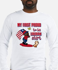 liberian Long Sleeve T-Shirt