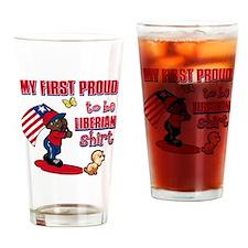liberian Drinking Glass