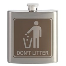 brown_litter_container_oddsign1 Flask