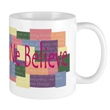 We Believe Subtles for amy Small Mug